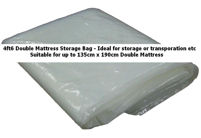 Polythene Mattress Covers Home & Furniture - Accessories - 4ft6 Double Mattress Storage Bag